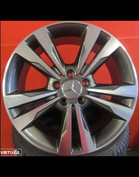 """Jantes 18"""" Novas Mercedes C e E novo modelo (CLA) Antracite Polidas"""