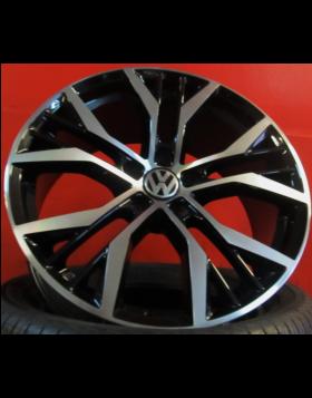 "Jantes 18"" Novas VW Golf VII GTI Pretas Polidas"