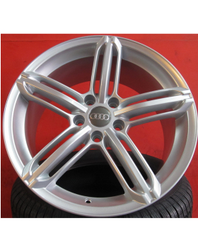 """Jantes 19"""" novas Audi A5 mod RS6, hiper silver"""
