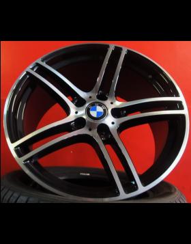 """Jantes 19"""" Novas BMW S3 Performance Pretas com duas medidas"""