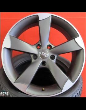 """Jantes 19"""" Novas RS3 Antracite Polidas novo modelo Et 25 Made Italy"""