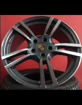"""Jantes 21"""" Novas Porsche Cayenne mod 2014 10x21 et 55 Fig 5398"""